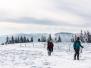 Raquettes à neige dans le massif vosgien